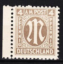 BIZONE 1945 Mi. Nr. 2 Postfrisch Seitenrand TOP!!! (13917)