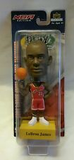 ☆ NEW LEBRON JAMES BOBBLEHEAD CLEVELAND CAVALIERS UPPER DECK SPINNING BALL F/S