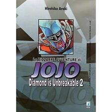 LE BIZZARRE AVVENTURE DI JOJO - DIAMOND IS UNBREAKABLE 2 DI 12 STAR COMICS NUOVO
