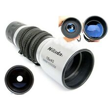 New Sightseeing Hunting Powerful Nikula 16X40 Monocular Telescope Blue Coated