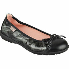Girls Leather Paola Ballerina Shoes UK2.5 EU35 JS25 78