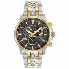 New Citizen Eco-Drive Calibre 8700 Perpetual Calendar Mens Watch BL8144-54H