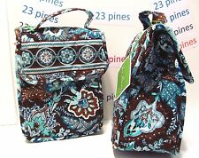 VERA BRADLEY {ONE} OUT TO LUNCH RETIRED JAVA BLUE HARD TO FIND NWT