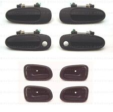 93 - 97  8 pc = 4 Outside + 4 Inside Brown Door Handles SET Fits: Toyota Corolla