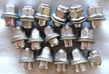 01 02 03 TOYOTA PRIUS WHEEL RIM 4X WHEELS LUG NUT NUTS BOLTS OEM SET OF 16 #G-59