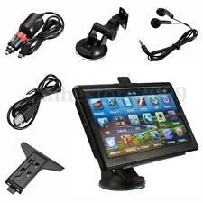 Unversal 7inch 4GB HD Screen Car GPS Navigation Navigator SAT NAV Free US Maps