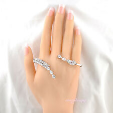 fashion zircon palm bracelet woman hand cuff palm cuff adjustable handlet Gift