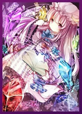 (60)MTG Yugioh Touhou project Card sleeves Patchouli Knowledge in 60sheets