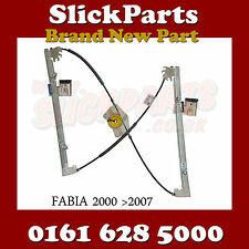 SKODA FABIA WINDOW REGULATOR FRONT 1999 2000 2001 2002 2003 2004 2005 2006 *NEW*