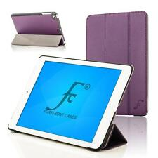 Forefront Cases Leather Purple Smart Folding Case Cover Apple iPad Air 2 iPad 6