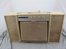Admiral Solid State Suitcase Stereo Dual Speaker HiFi Vintage 1960's Hi-Fi 1960s