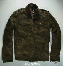 Levis Mens Camo Military Jacket LARGE NWT - *AS IS*