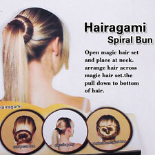 1 Pcs Women Hairpin Bun Tail Women Styling Tool Hairband Hair Beauty Style Acce