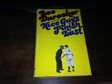 Nice Guy's Finish Last by Leo Durocher 1st Hardcover w/ Dust Jacket
