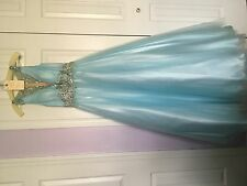 Tiffany style: 61135 baby blue prom dress size 4