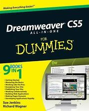 Dreamweaver CS5 All-in-One for Dummies NOT Ex Library Book