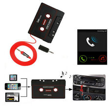 3.5mm Car Stereo Cassette Tape Adapter For iPhone iPod MP3 Audio CD Player w/Mic