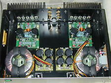 "Elektor HEXFET PowerAmp DIY Eigenbau Hi-End Hifi Verstärker 19""-Rack DJ PA"