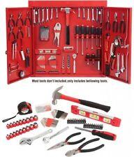 151-Piece Metal Wall Cabinet Tool Kit Garage Storage Toolbox Organizer Steel Box