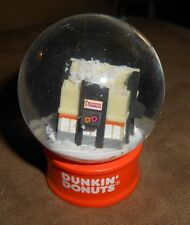 Dunkin Donuts Snow Globe Shop Store - Very Good