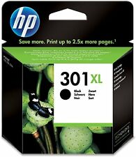 Genuine HP 301XL Cartucho De Tinta Negro para HP DeskJet 1514 1512 1510 2060