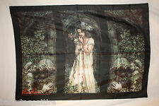 Victoria Frances Tryptich Rare Cloth Fabric Poster Flag Textile Banner OOP-New
