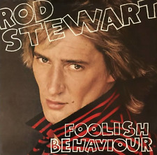 ROD STEWART ‎- Foolish Behaviour (LP) (VG/VG)