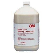 3M 05955 Super Duty Rubbing Compound- 1 Gallon