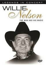 Willie Nelson: The Man and His Music: Legends In Concert  DVD NEW