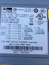Lenovo ThinkStation S20 625W 80 Plus Bronze Power Supply  AcBel FS8003