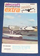 AIRCRAFT ILLUSTRATED EXTRA NUMBER EIGHT - FLYING BOATS & FLOATPLANES 1914-45