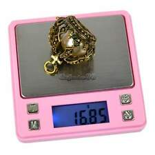 .Handy 200g x 0.01g Digital Mini Pocket Scale Jewelry Weight Balance Scale Pink