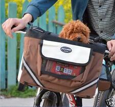 Pet gear Cat Dog Bicycle BikeSeat Basket Carrier Puppy Travel bike Seat Portable