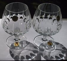 2 NWT Cristallerie Zwiesel GARDONE Cut Crystal Brandy Snifter Glass Germany