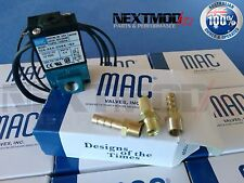 2 x MAC Valve Boost Control Solenoid 3 Port to suit Haltech Motec AEM Cobb ECU