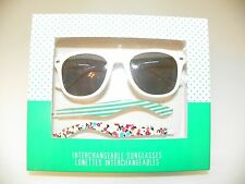 Aeropostale Sunglasses with Interchangeable temple arms-New In Box