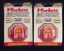 2x Plackers Stop Grinding Dental Night Guard  Protector Bruxism Clenching