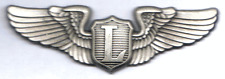 LAST larger 30s Style Army Air Corps Liaison Pilot Wings/Lighter-Than-Air Wings