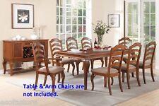 Antique Formal Kitchen Dining room 4 Side Chairs set Framed Back Wood Furniture