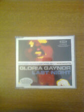 GIORGIO MORODER  PROJECT PRESENTS GLORIA GAYNOR LAST NIGHT - CDS  6 TRACKS