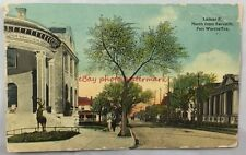 1914 Postcard Lamar St North From 7th Fort Worth Texas Antique PC