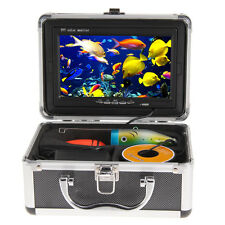 "7"" 30m Underwater Fish Finder HD 1000 TV Fishing Video Camera Monitor w/ Cable"