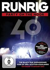 RUNRIG - PARTY ON THE MOOR (THE 40TH ANNIVERSARY CONCERT) 2 DVD NEU