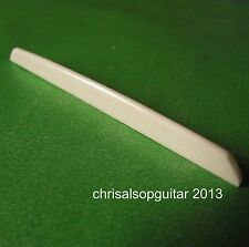 Bone Saddle For Gypsy Guitar. Hand Carved, Tailored to Suit by Chris Alsop PS021
