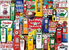 Gas Pumps 550 piece jigsaw puzzle   610mm x 450mm   (wmp)