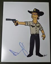 """ANDREW LINCOLN Authentic Hand-Signed """"THE WALKING DEAD"""" 11x14 photo (PROOF)"""