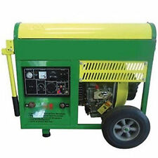 Diesel Generator & Welder w/ Wheel Kit - 6,500 Watts - Electric Start - 3 Gallon