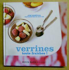Livre de cuisine  Verrines toute fraîches 29 recettes /J8