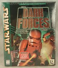 Star Wars: Dark Forces With Jedi Knight Missions (PC, 1998) BIG BOX NEW SEALED