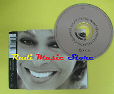 CD Singolo TINA TURNER Whatever you want 1996 italy EMI no lp mc dvd (S11)